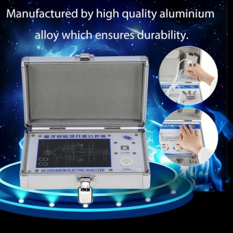 Portable 4th Generation Quantum Magnetic Resonance Analyzer Subhealth Body Detector - intl Price Philippines