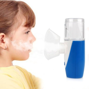Portable Rechargeable Handheld Ultrasonic Nebulizer Respirator Humidifier Kids - intl