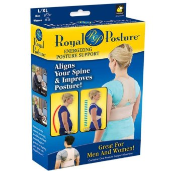 Posture Align Your Spine back brace support garment Posture BackSupport Brace Women Men posture corrector- Medium
