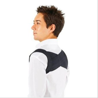 Posture Corrector Shoulder Brace Belt (Black) Price Philippines