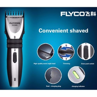 POWERLONG Flyco Professional Electric Hair Clipper Children AndAdults Ultra Uuiet Intelligent Adjustment length Rechargeable HairTrimmers Hair Cutting Machine Beards shaver FC5808