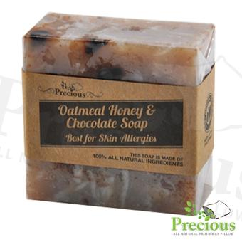 Precious Pad Nature's Oatmeal Honey and Chocolate Soap Best for Skin Allergy
