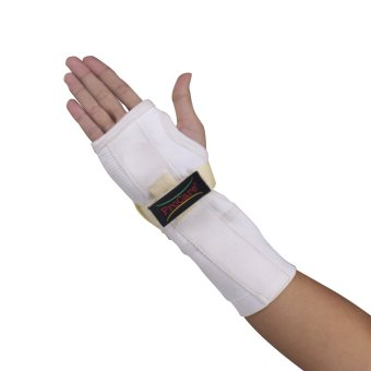 PROCARE PROTECT #1034R Hand and Wrist Splint Brace with MetalSupport Extended, Right Hand (White) - 3
