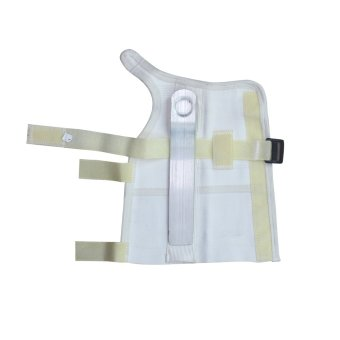 PROCARE PROTECT #1034R Hand and Wrist Splint Brace with MetalSupport Extended, Right Hand (White) - 4