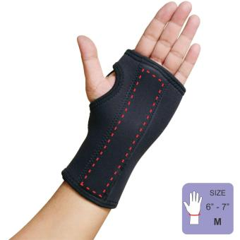 PROCARE PROTECT #1036L Hand and Wrist Splint Brace with MetalSupport, Left Hand, Unisex SIZE(MEDIUM)