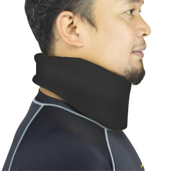 PROCARE PROTECT #4025B-M Soft Neck Brace Cervical Collar, 3.5-inchChin Height (Black) - 2