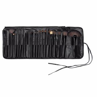Professional 24Pcs Cosmetic Makeup Make Up Brush Brushes Set Kit Tools + Toothbrush Makeup Brushes Cosmetic Puff with Super Soft Pouch Bag Case - intl - 3
