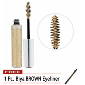 Professional Makeup Tinted Brow Gel Eyebrow Makeup (Blonde) FREE 1 Pc. Biya Eyeliner 20g