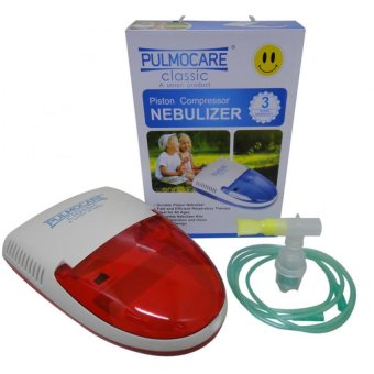Pulmocare Classic Piston Compressor Nebulizer with 3 years warranty(Red)