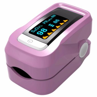 Pulse Oximeter Fingertip Blood Oxygen Monitor pink - intl
