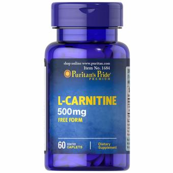 Puritan's Pride L-Carnitine 500mg 60 tablets Set of 1 Bottle