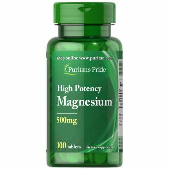 Puritan's Pride Magnesium 500mg 100 tablets Set of 1 Bottle Price Philippines