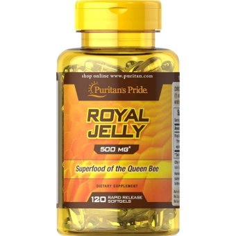 Puritan's Pride Royal Jelly 500 mg, 120 Softgels