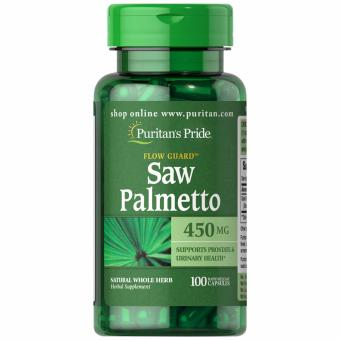 Puritan's Pride Saw Palmetto 450mg 100 capsules Set of 1 Bottle Price Philippines