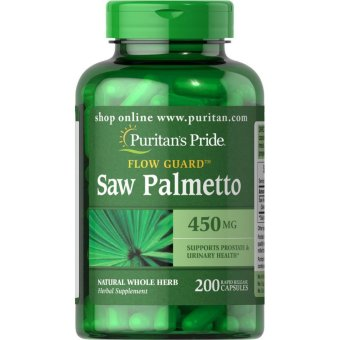 Puritan's Pride Saw Palmetto 450mg, 200 Capsules Price Philippines