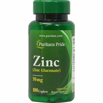 Puritan's Pride Zinc 50 mg, 100 Caplets Price Philippines