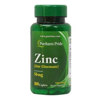 Puritan's Pride ZINC Gluconate 50mg - 100 caplets Price Philippines