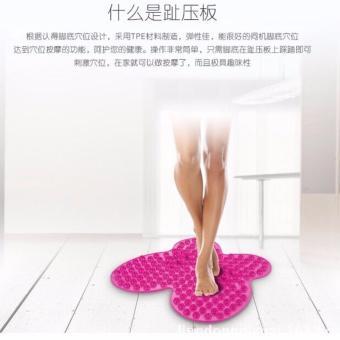 QF FUTZUKI REFLEXOLOGY FOOT RELIEF MAT(Pink)