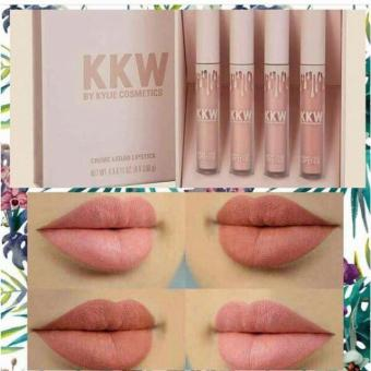 QF KKW by Kylie Cosmetics Creme Liquid Lipstick Set