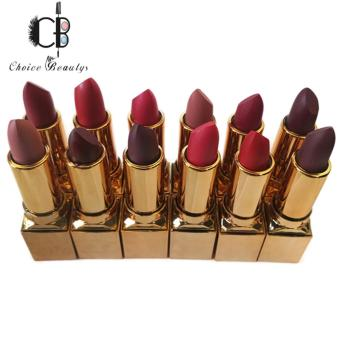 Queen's Secret Sweet Kiss Matte Lipstick 12PCS (Multicolor)