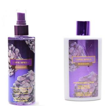 Queen's Secret Love Spell Midnight Body Mist 250ml with Queen's Secret Love Spell Midnight Hydrating Body Lotion 250ml - picture 2