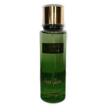 Queen's Secret Pear Glace Fragrance Mist 250ml Gold Cap