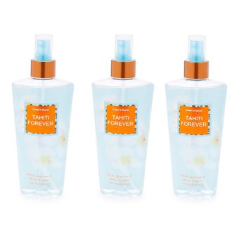 Queen's Secret Tahiti Forever Fragrance Mist for Women 250ml Set of 3