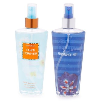 Queen's Secret Tahiti Forever Fragrance Mist for Women 250ml withQueen's Secret Secret Craving Fragrance Mist for Women 250ml Bundle Price Philippines