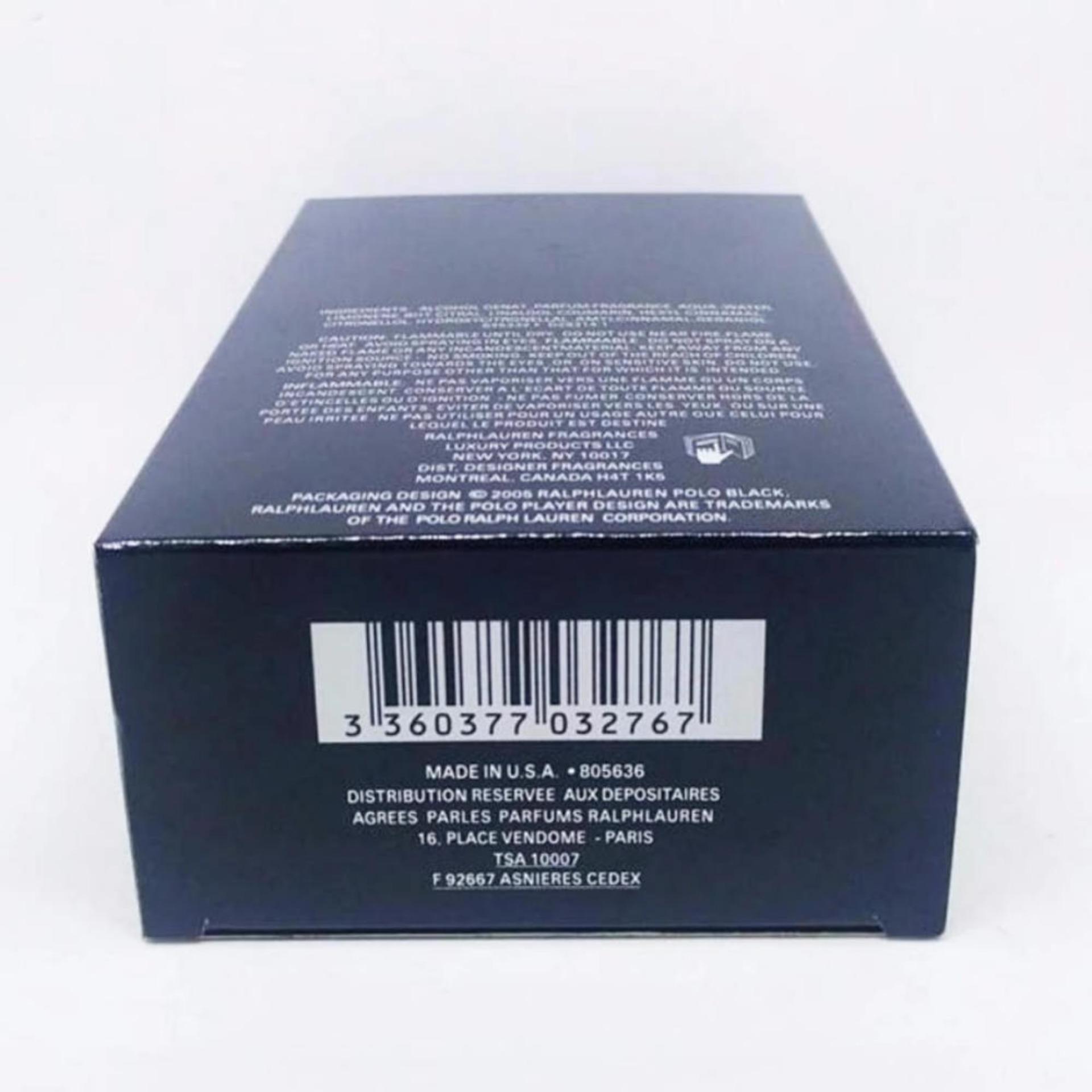 Philippines Ralph Lauren Polo Black Eau De Toilette Natural Spray Edt 125 Ml 125ml For Men