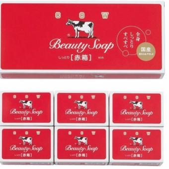 Red Cow Soap 100g Set of 5 + 1 Price Philippines