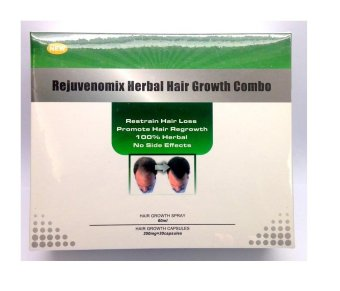 Rejuvenomix Herbal Hair Growth Combo - 2