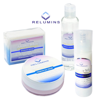 Relumins Advance White TA Stem Cell Facial Set (Day Cream, Toner,Serum & Soap) Price Philippines