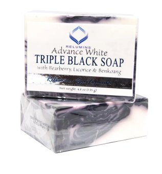 Relumins Advance Whitening Anti-aging Triple Black Soap 135g Price Philippines