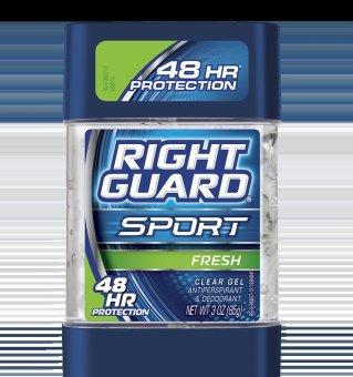 Right Guard Sport Fresh Clear Gel Anti-Perspirant Deodorant 3oz