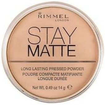 Rimmel London Stay Matte Pressed Powder 14g (003-Natural) Price Philippines