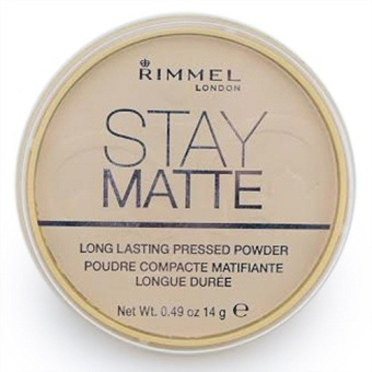 Rimmel London Stay Matte Pressed Powder 14g (Transparent 001) Price Philippines