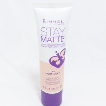 Rimmel Stay Matte Liquid Mousse Foundation 30ml (Light Ivory) Price Philippines
