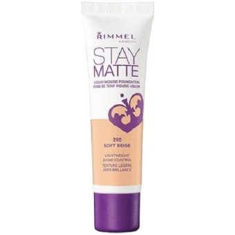 Rimmel Stay Matte Liquid Mousse Foundation Soft Beige