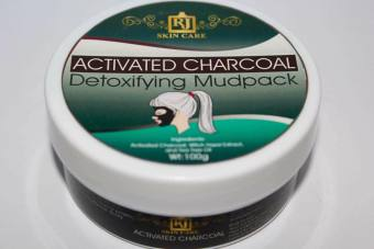 RJ Skin Care Activated Charcoal Mudpack 100g Price Philippines