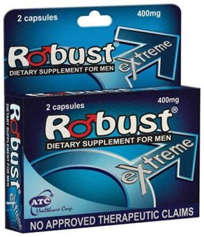 Robust 400mg Extreme Dietary Supplement for Men by 2's Price Philippines