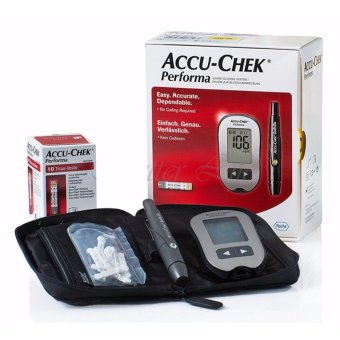 Roche Accu-Chek New Performa Blood System - intl