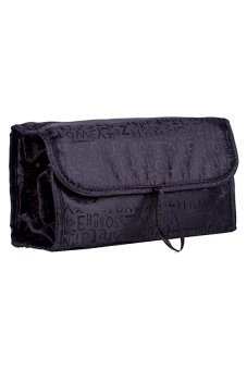 Roll-N-Go Cosmetic Bag (Black)