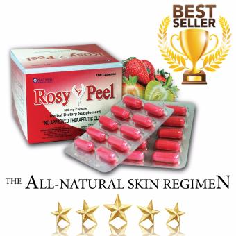 Rosy Peel Food Supplement 500mg Capsule, Box of 100