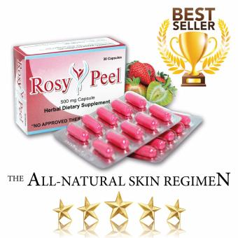 Rosy Peel Food Supplement 500mg Capsule Box of 30