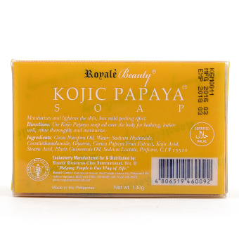 Royale Beauty Kojic Papaya Soap 130g - 2