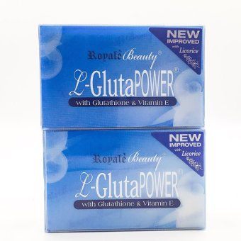 Royale beauty L-Gluta Power Glutathione Soap Set of 2 bars