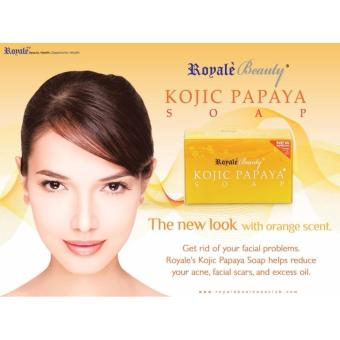 ROYALE KOJIC PAPAYA SOAP 130g with orange extract Price Philippines