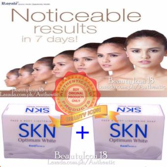 Royale SKN Optimum White Soap 135g Set of 2