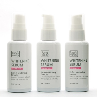Rucy's Vanity Whitening Serum 60ml Pack of 3
