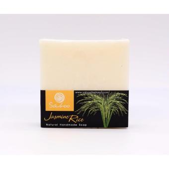 (SABOO) JASMINE RICE soap-Deep cleansing,toning,detoxifying facialand body bar.Perfect for all skin types.